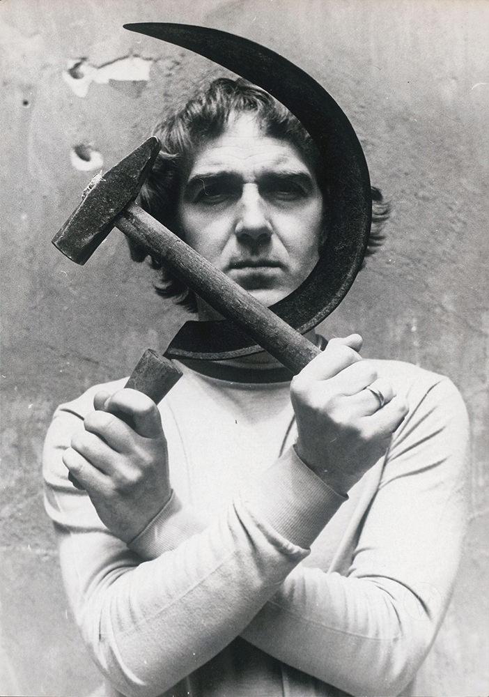 Pinczehelyi Sándor: Sarló és kalapács, 1973